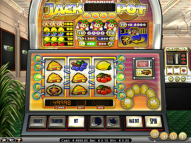 Play free Jackpot 6000 slot by NetEnt