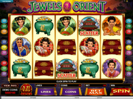 Play free Jewels of the Orient slot by Microgaming