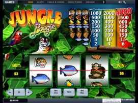 Play free Jungle Boogie slot by Microgaming
