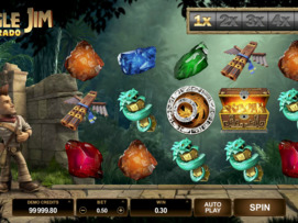 Play free Jungle Jim El Dorado slot by Microgaming