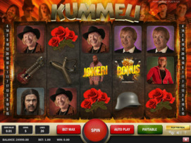 Play free Kummeli slot by Play'n GO