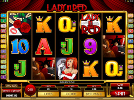 Play free Lady in Red slot by Microgaming