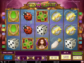 Play free Lady of Fortune slot by Play'n GO