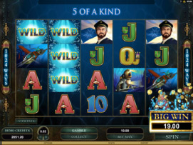 Play free Leagues of Fortune slot by Microgaming