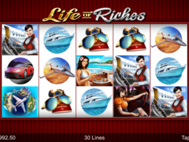 Play free Life of Riches slot by Microgaming