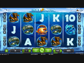 Play free Lucky Angler slot by NetEnt