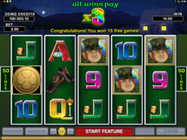 Play free Lucky Leprechaun's Loot slot by Microgaming