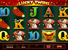 Play free Lucky Twins slot by Microgaming