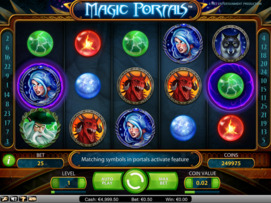 Play free Magic Portals slot by NetEnt