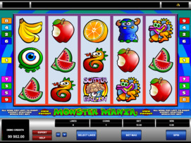 Play free Monster Mania slot by Microgaming