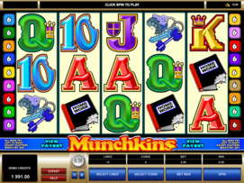 Play free Munchkins slot by Microgaming