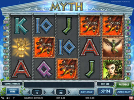 Play free Myth slot by Play'n GO