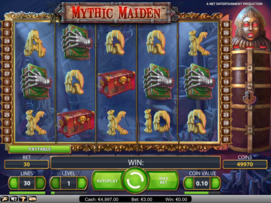 Play free Mythic Maiden slot by NetEnt
