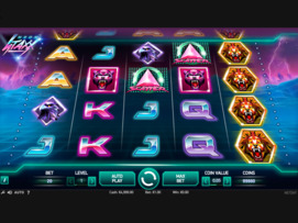 Play free Neon Staxx slot by NetEnt