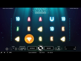 Play free NRVNA slot by NetEnt
