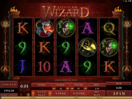 Play free Path of the Wizard slot by Microgaming