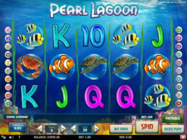 Play free Pearl Lagoon slot by Play'n GO