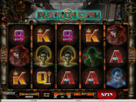 Play free Phantom Cash slot by Microgaming