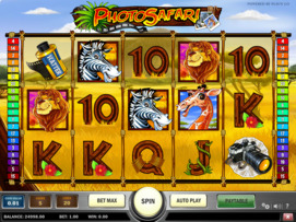 Play free Photo Safari slot by Play'n GO