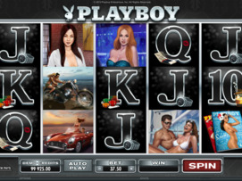 Play free Playboy slot by Microgaming