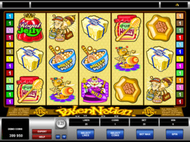 Play free Pollen Nation slot by Microgaming
