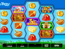 Play free Pollen Party slot by Microgaming