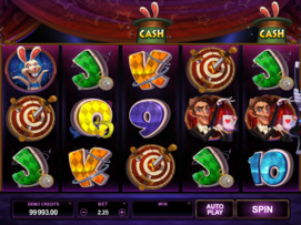 Play free Rabbit in the Hat slot by Microgaming