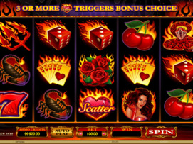 Play free Red Hot Devil slot by Microgaming