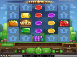 Play free Reel Rush slot by NetEnt