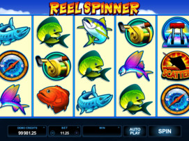 Play free Reel Spinner slot by Microgaming