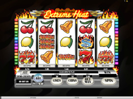 Play free Retro Reels Extreme Heat slot by Microgaming