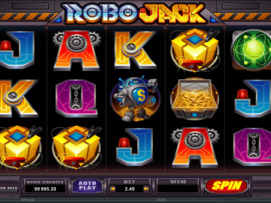 Play free Robo Jack slot by Microgaming