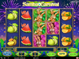Play free Samba Carnival slot by Play'n GO