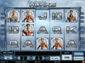 Play free Scandinavian Hunks slot by Play'n GO