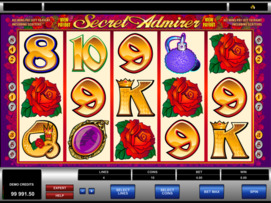 Play free Secret Admirer slot by Microgaming