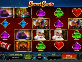 Play free Secret Santa slot by Microgaming