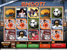 Play free Shoot! slot by Microgaming