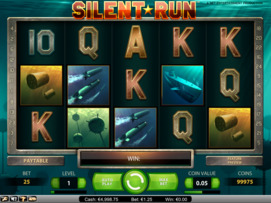 Play free Silent Run slot by NetEnt