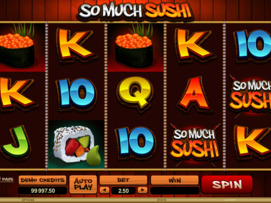 Play free So Much Sushi slot by Microgaming