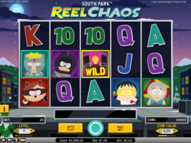 Play free South Park: Reel Chaos slot by NetEnt