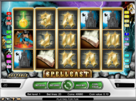 Play free Spellcast slot by NetEnt