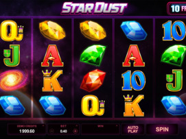 Play free StarDust slot by Microgaming