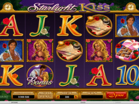 Play free Starlight Kiss slot by Microgaming
