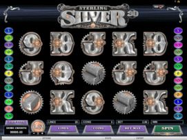 Play free Sterling Silver slot by Microgaming