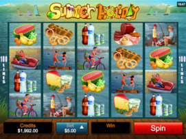Play free Summer Holiday slot by Microgaming