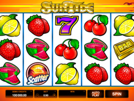 Play free SunTide slot by Microgaming