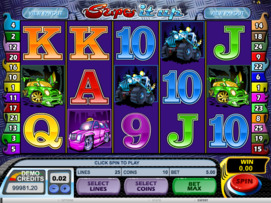Play free Supe it Up slot by Microgaming