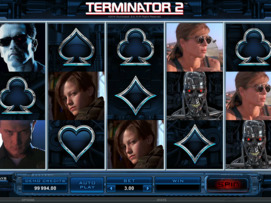 Play free Terminator 2 slot by Microgaming