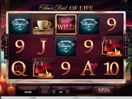 Play free The Finer Reels of Life slot by Microgaming