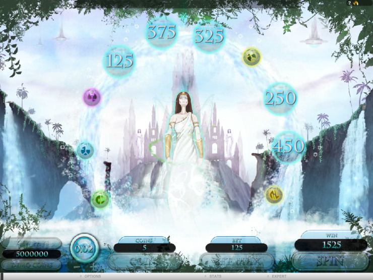 Play free The Forgotten Land of Lemuria slot by Microgaming